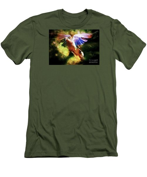 Guardian Angel Men's T-Shirt (Slim Fit) by Tina  LeCour