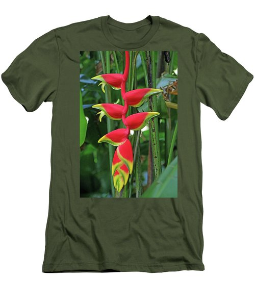Hawaii Flora Men's T-Shirt (Slim Fit)