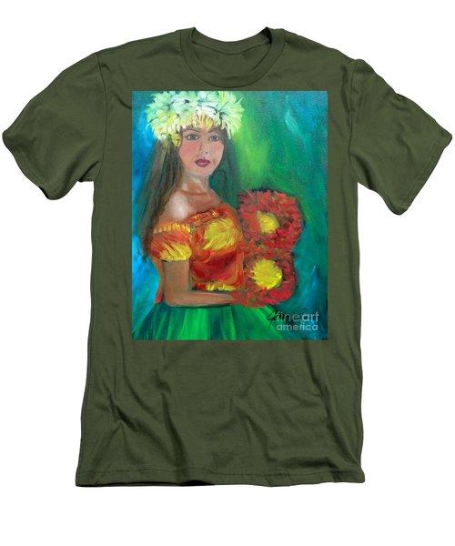 Hula 1 Men's T-Shirt (Athletic Fit)