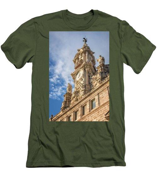 Men's T-Shirt (Slim Fit) featuring the photograph Iglesia De Los Santos Juanes Valencia Spain by Joan Carroll