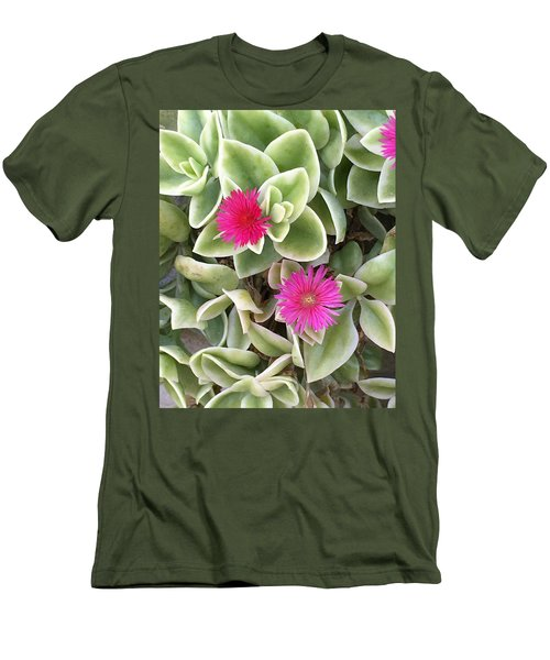 In The Pink Men's T-Shirt (Slim Fit) by Kay Gilley