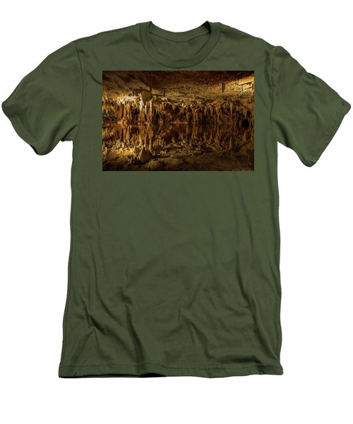 In The Upside-down Men's T-Shirt (Athletic Fit)