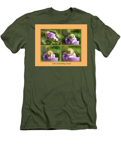 Men's T-Shirt (Athletic Fit) featuring the photograph Into Something Good by AJ Schibig