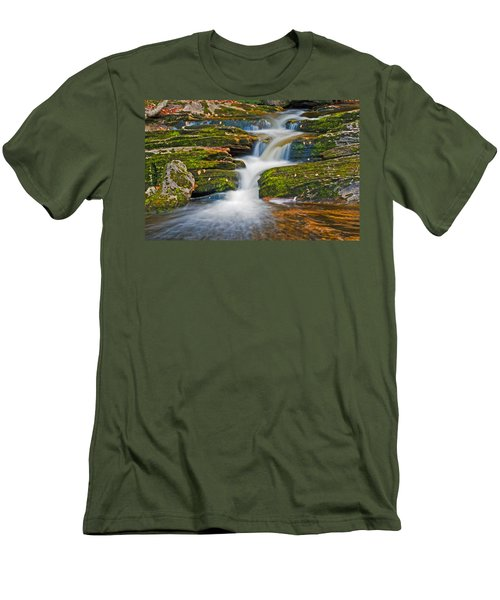 Kent Falls Men's T-Shirt (Athletic Fit)