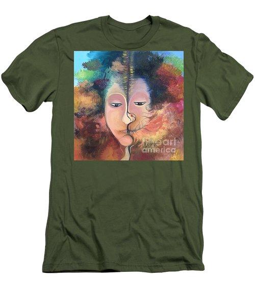 La Fille Foret Men's T-Shirt (Slim Fit)