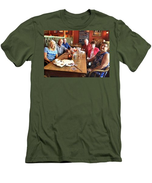 Lassen Hall Reunion Men's T-Shirt (Athletic Fit)