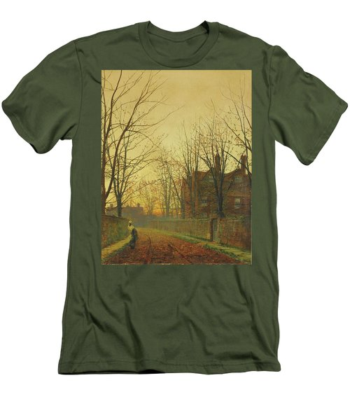 Late October Men's T-Shirt (Athletic Fit)