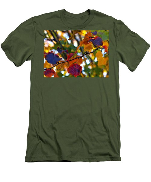 Leaves Of Autumn Men's T-Shirt (Athletic Fit)
