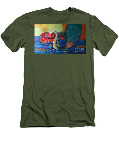 Life Men's T-Shirt (Athletic Fit)