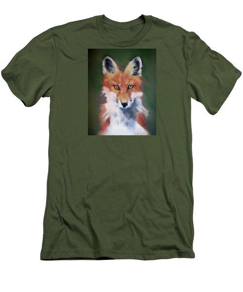 Lil' Rudy Men's T-Shirt (Slim Fit) by Marika Evanson