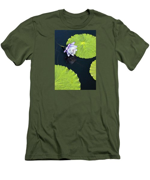 Men's T-Shirt (Slim Fit) featuring the photograph Lily Love by Suzanne Gaff