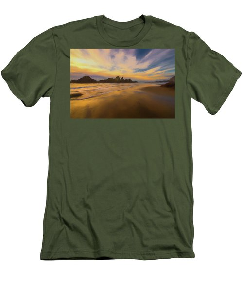 Lines In The Sand 2 Men's T-Shirt (Athletic Fit)