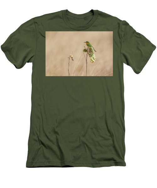 Little Bee-eater Men's T-Shirt (Slim Fit) by Kathy Adams Clark