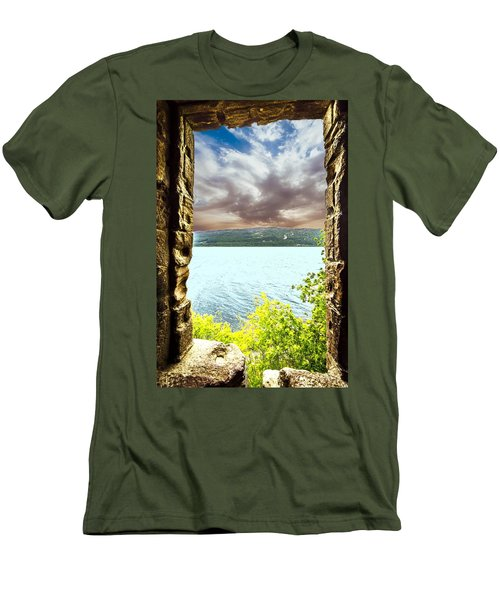 Loch Ness Men's T-Shirt (Athletic Fit)