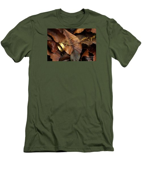 Men's T-Shirt (Slim Fit) featuring the photograph Lost  by Gary Bridger