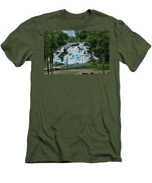 Lots Of Rain Men's T-Shirt (Athletic Fit)