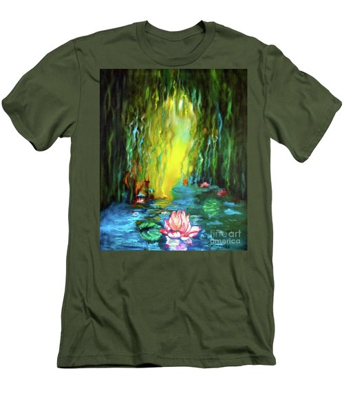 Lotus And Lily Pads Men's T-Shirt (Athletic Fit)