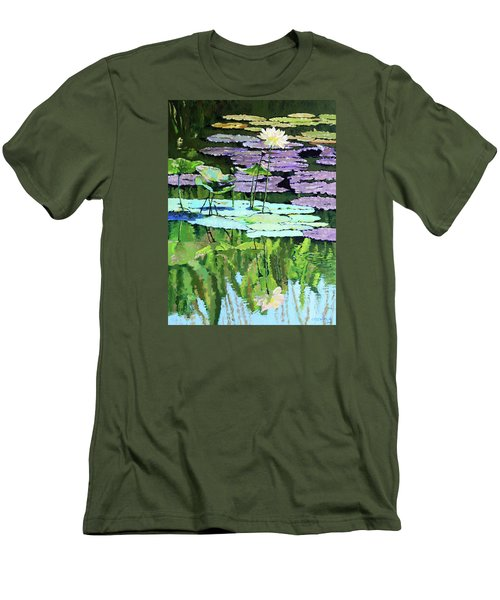 Lotus Reflections Men's T-Shirt (Athletic Fit)