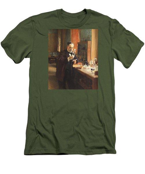 Louis Pasteur Men's T-Shirt (Slim Fit) by Albert Edelfelt