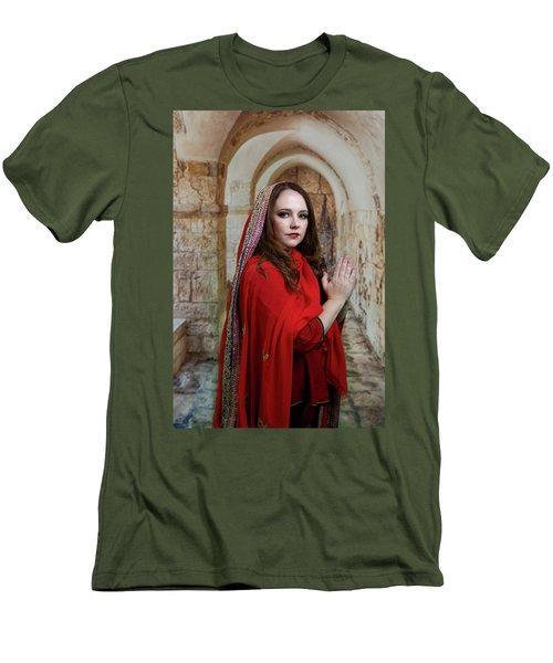 Mary Magdalene Men's T-Shirt (Slim Fit) by David Clanton