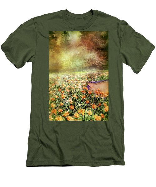 Men's T-Shirt (Slim Fit) featuring the photograph Masquerade by Diana Angstadt