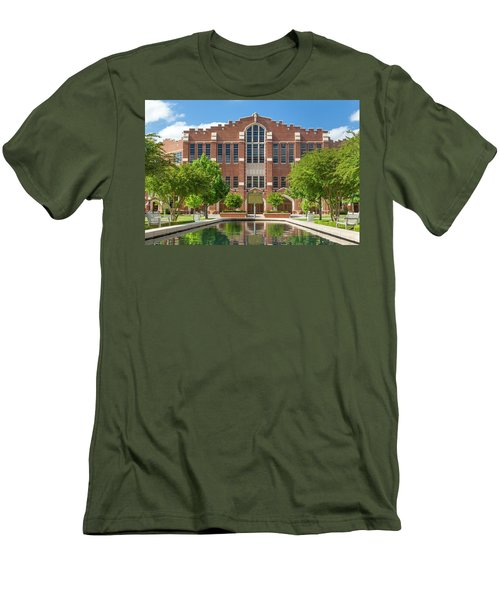 Mccasland Field House Men's T-Shirt (Athletic Fit)