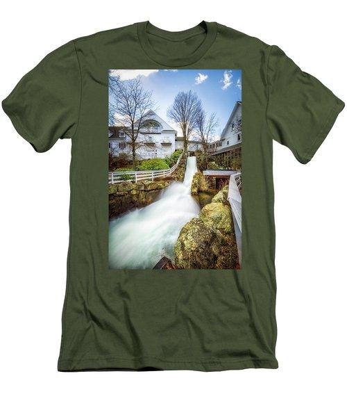 Mill Falls Men's T-Shirt (Slim Fit) by Robert Clifford