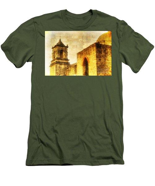 Mission San Jose San Antonio, Texas Men's T-Shirt (Athletic Fit)