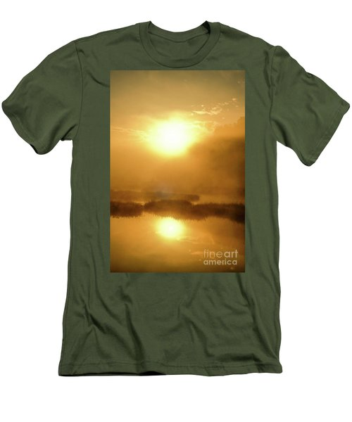 Misty Gold Men's T-Shirt (Athletic Fit)