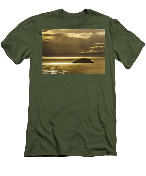 Moonscape Men's T-Shirt (Athletic Fit)