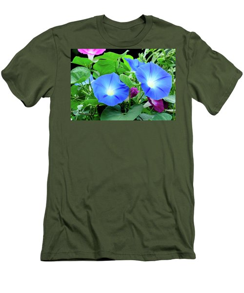 My Morning Glory Men's T-Shirt (Athletic Fit)