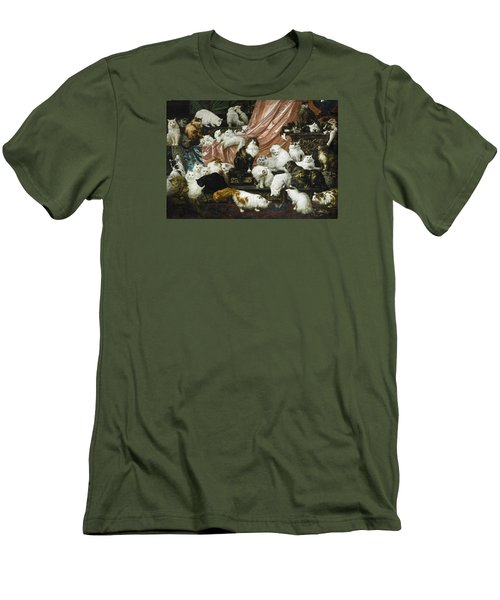 My Wife's Lovers Men's T-Shirt (Slim Fit) by Carl Kahler