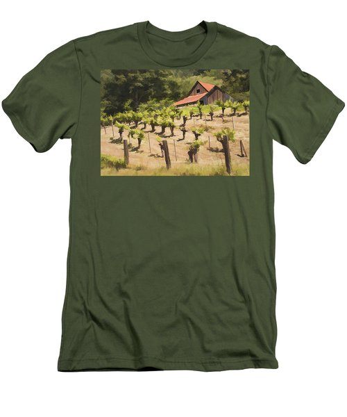 Napa Barn Men's T-Shirt (Athletic Fit)
