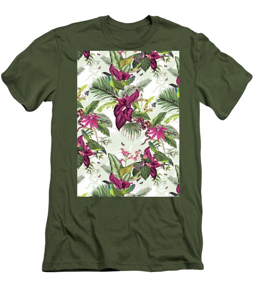 Nicaragua Men's T-Shirt (Slim Fit) by Jacqueline Colley