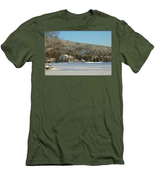 Norwegian Valley  Men's T-Shirt (Athletic Fit)