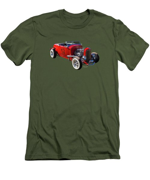 Number 32 Men's T-Shirt (Athletic Fit)