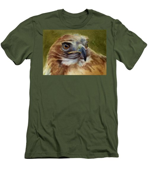 Red-shouldered Hawk Men's T-Shirt (Slim Fit)