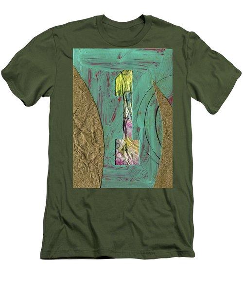 Number 1 Men's T-Shirt (Athletic Fit)