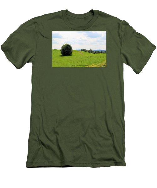 Rolling Hills Men's T-Shirt (Slim Fit)