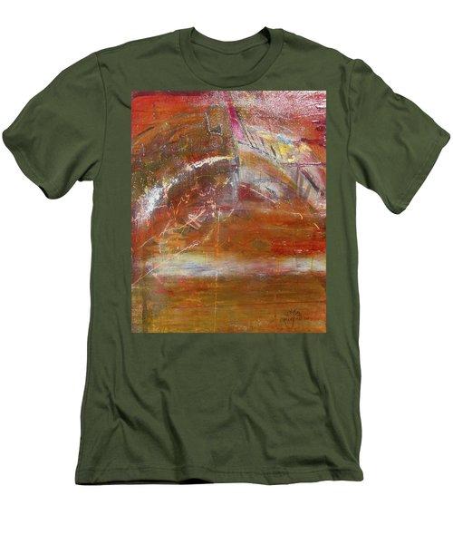 Rusty Rainbow Men's T-Shirt (Athletic Fit)