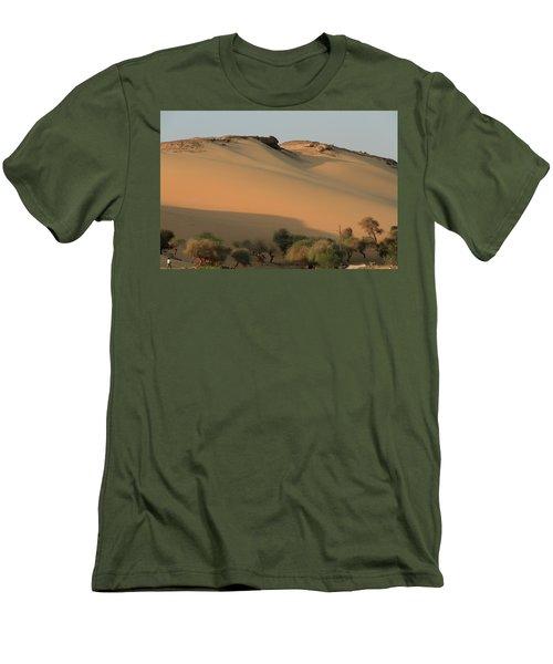 Sahara Men's T-Shirt (Slim Fit) by Silvia Bruno