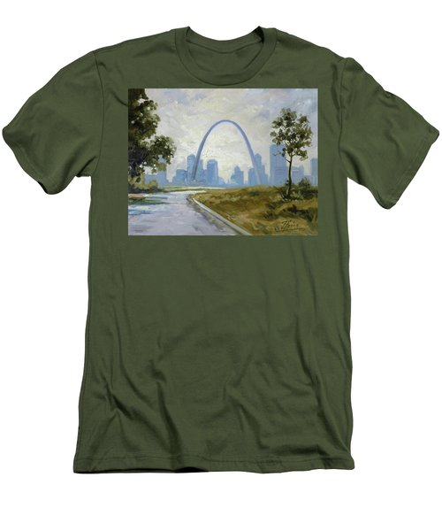Saint Louis Panorama Men's T-Shirt (Athletic Fit)