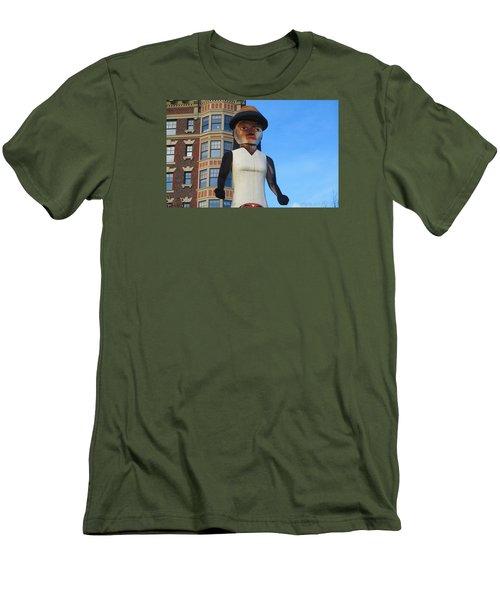 Salish Woman Men's T-Shirt (Athletic Fit)