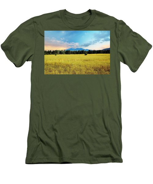 San Francisco Peaks  Men's T-Shirt (Athletic Fit)