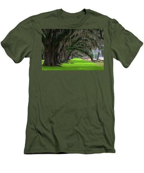 Southern Oaks Men's T-Shirt (Athletic Fit)