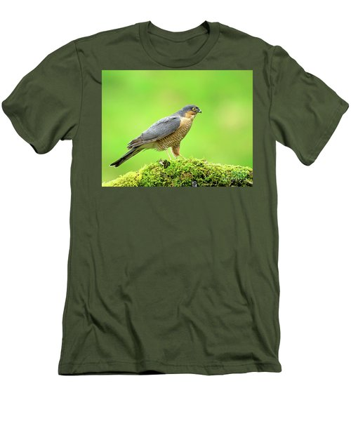 Sparrowhawk Men's T-Shirt (Athletic Fit)