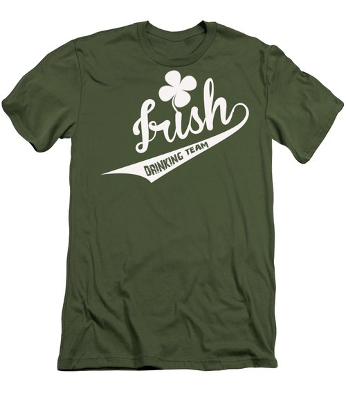 St. Patrick's Day Men's T-Shirt (Slim Fit) by ES Design