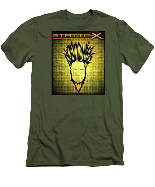 Static-x Men's T-Shirt (Slim Fit) by Kyle West