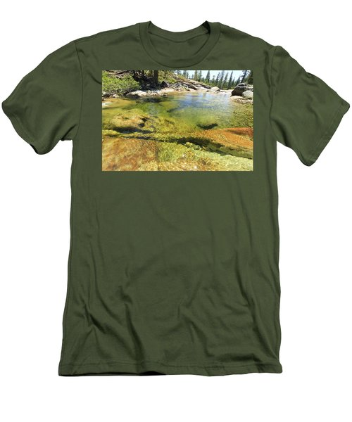 Men's T-Shirt (Athletic Fit) featuring the photograph Summer Sweet Spot by Sean Sarsfield