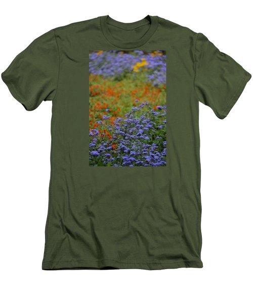 Summer's Garden Men's T-Shirt (Slim Fit) by Tim Good